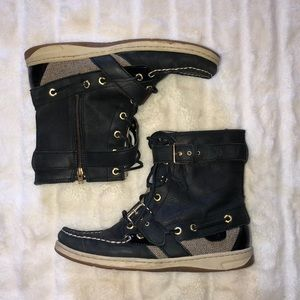 SPERRY tall boat shoe/boot